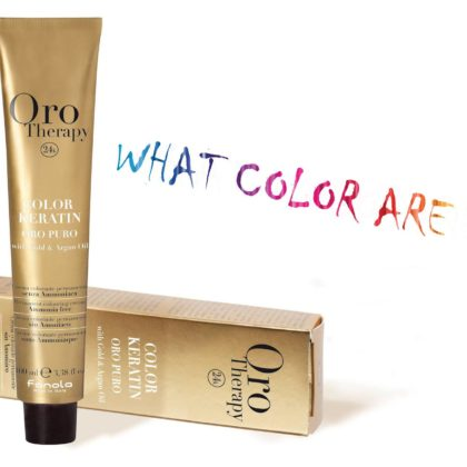 coloration oro therapy